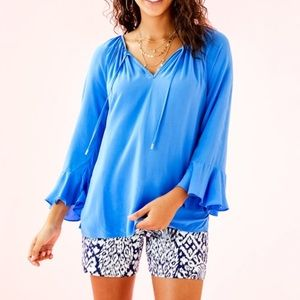 Lilly Pulitzer Solid Willa Top